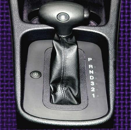 Automatic gears on a modern passenger car