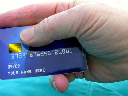 Credit card showing number active till 2009 Stock Photo - 2797023