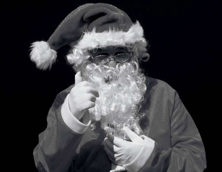 Platinum or Vintage style photo of Santa    Stock Photo - 2894262