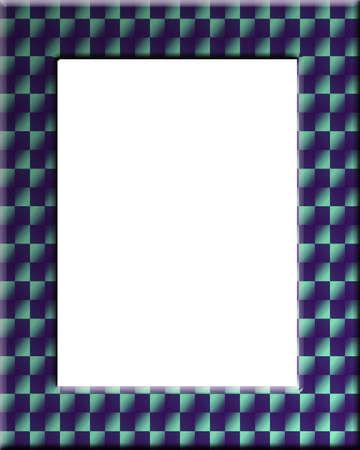 checker board: Checker bordo de estilo marco perfecto para los ganadores