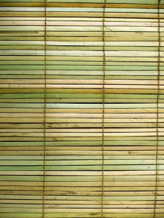 Handgemaakte bamboe gordijnen traditionele Aziatische thema achtergrond