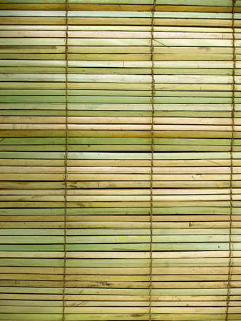 Handmade  bamboo curtains traditional asian theme background