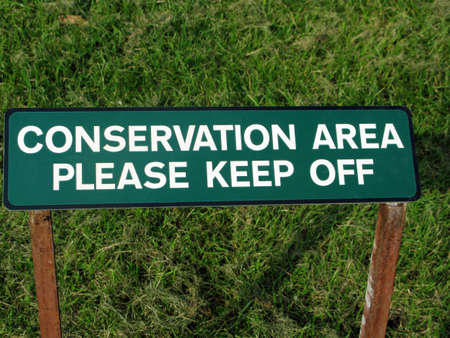 dont walk: Conservation Dont walk on the grass a step too far