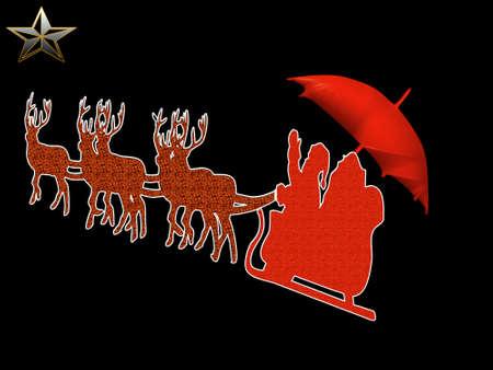 brolly: V�speras de Navidad con las nuevas santas presente una brolly