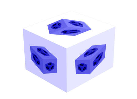 ameba: Nacimiento. Evoluci�n de un cubo, de estilo ameba