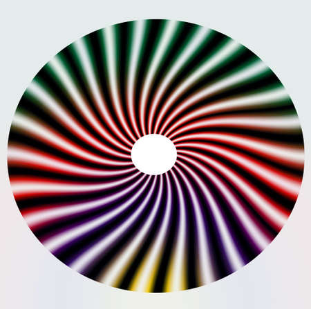 discs: CD design, original, for all types of discs Stock Photo