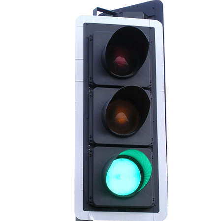 trafficlight: All systems Go with traffic light at green