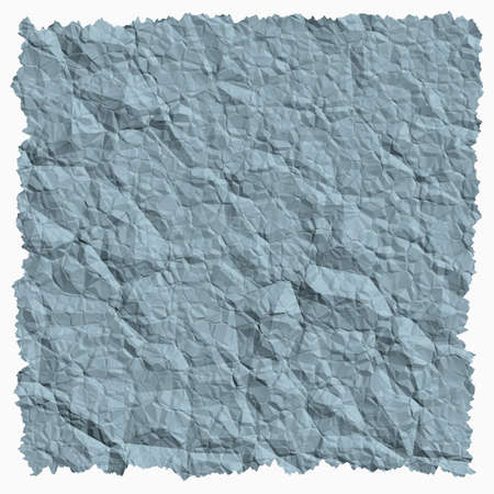 crumple: Crumpled paper background with torn edges square