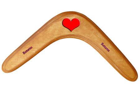 Love Boomerang perfect for valentines Austrailian Cupid photo