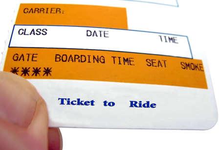 boarding card: Ticket to Ride utilizzare per le vostre vacanze annunci