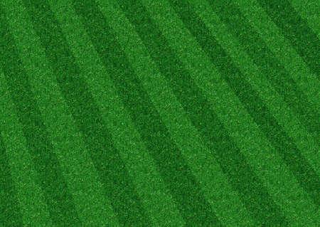 atletisch: Diagonal een beeld van een groot gazon gras