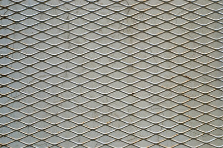 chainlink fence:  metal grid mesh on background