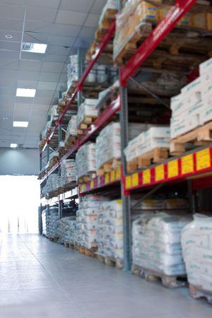 warehousing Stock Photo