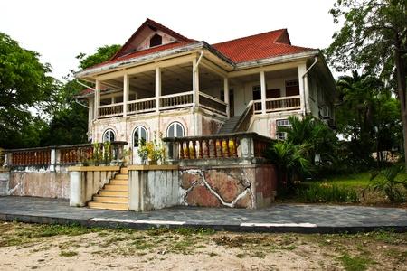 An old building near the sea  photo