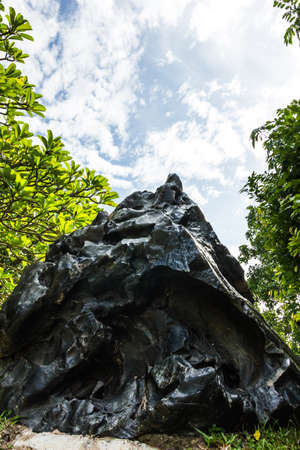 Boulder in garden at Thailand Stock Photo - 14980584