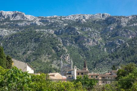Soller skyline view mountains Majorca