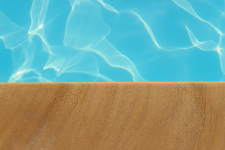 the pool: Swimming pool,poolside and sandstone ideal for backgrounds