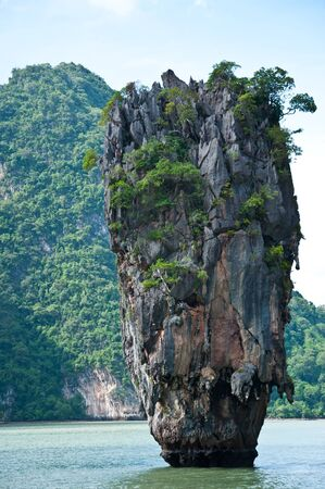 Tapu island (James bond island) Phang Nga ,Thailand photo