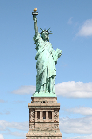 Statue of liberty in New York ,USA .
