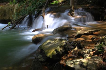 Chet Sao Noi Waterfall National Park in thailand.