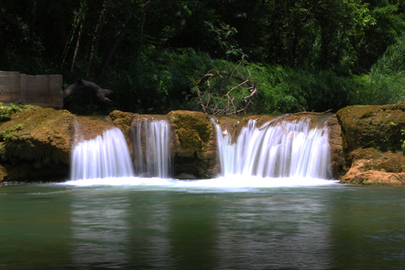 Chet Sao Noi Waterfall National Park in thailand.