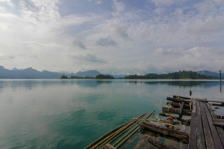 View of nature landscape Chiao Lan Dam