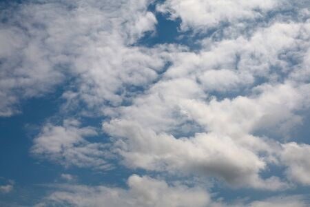 Cloud in blue sky for background and sky scape in thailand.