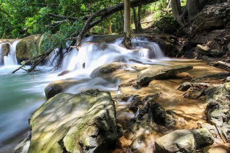 Chet Sao Noi Waterfall National Park in thailand