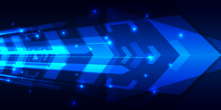 electronic background: Abstract speed digital technology background