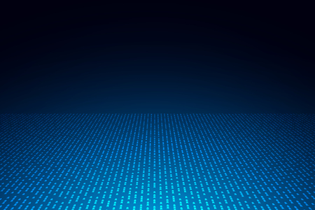 Abstract blue arrows background with copy space