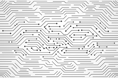 Abstract Technology Background , circuit board pattern
