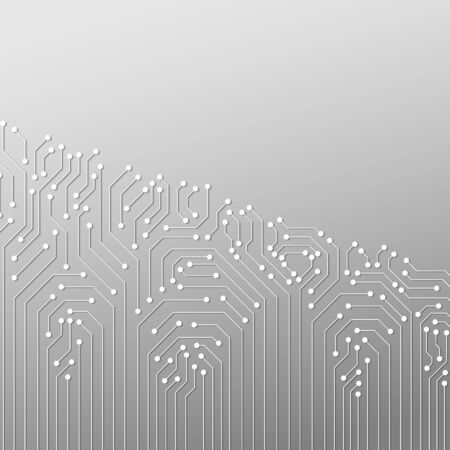Abstract Technology Background, circuit board pattern 일러스트