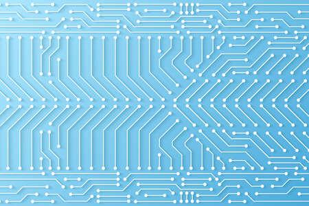 Abstract Technology Background, circuit board pattern Hình minh hoạ