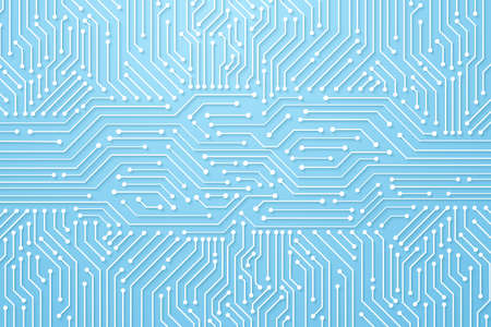 Abstract Technology Background, circuit board pattern