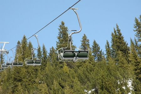 aerea: Chair Lift Stock Photo