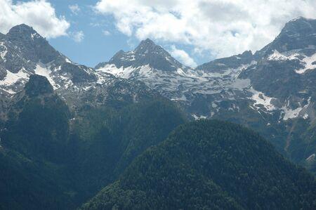 Peaks around St. Martin in Austria
