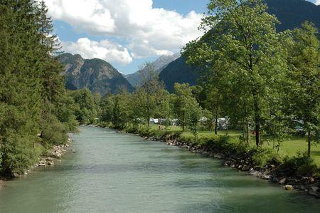 Nature Campground in Austria photo