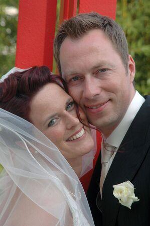 Hochzeit Portrait Standard-Bild - 5458008