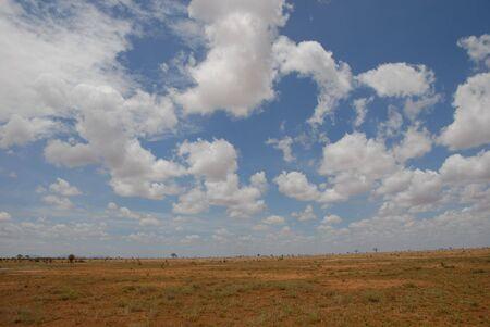 Tsavo East Stock Photo