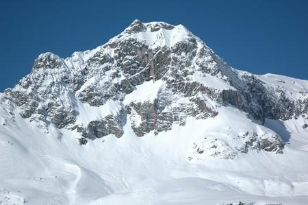 Mountain Peak - Skiing Region Z&uuml,rs - Arlberg, Austria