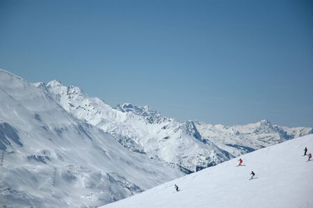 Top Skiing-Region -Arlberg, Austria-