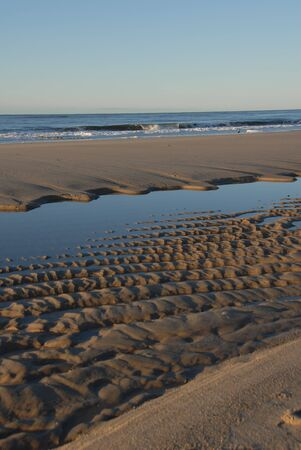 Sandy Beach Standard-Bild - 7712095