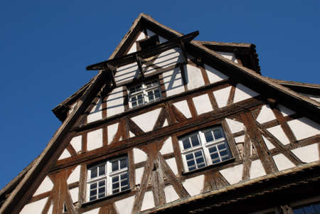 Half-timbered houses in strasbourg Stock Photo - 8082628
