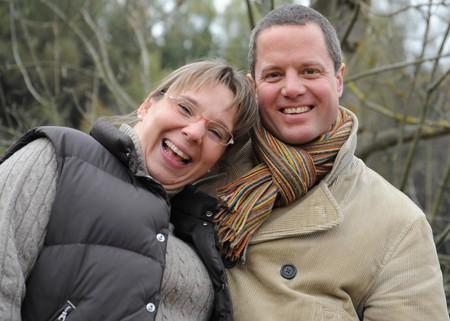 age 35 40 years: Happy Couple