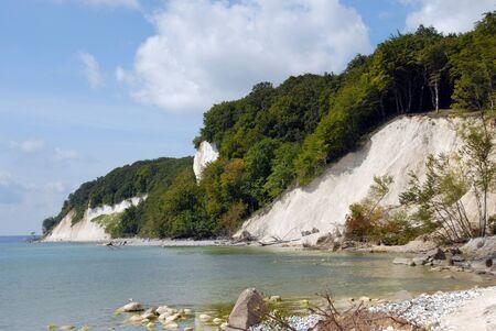 gen: chalk cliffs on rügen