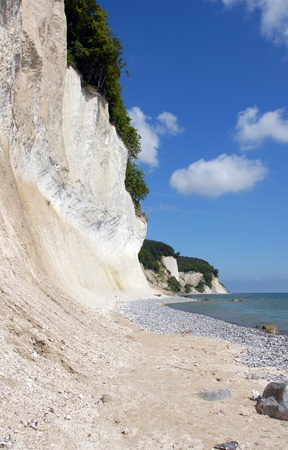 gen: chalk cliffs on rügen