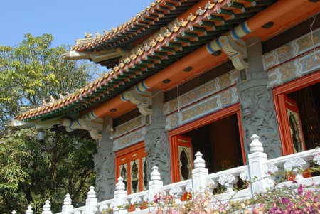 Buddhist temple in Lautau Stock Photo - 17965330