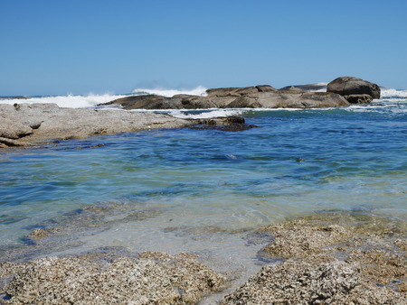 purely: Camps Bay - rocky beach