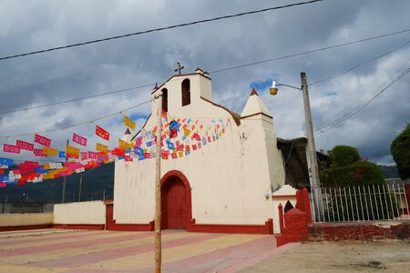 White Church in Mexico