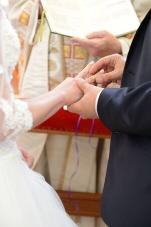 Ring exchange in the church